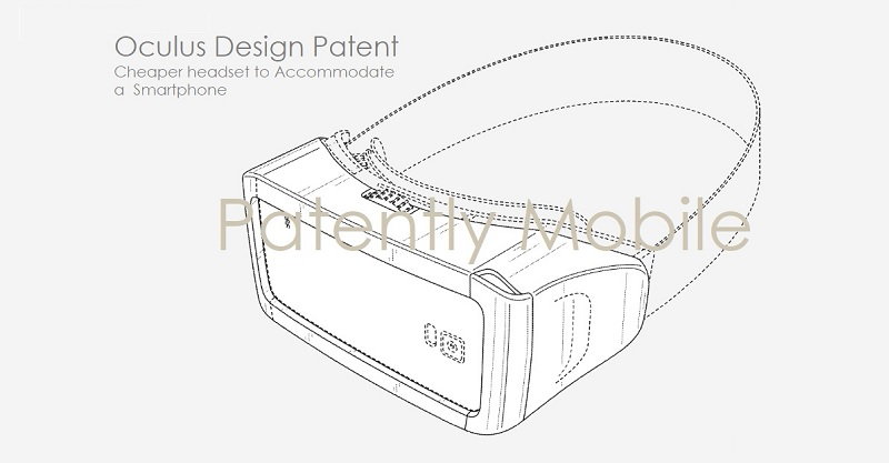 Oculus Wins a Design Patent for a Smartphone VR Headset and Microsoft Wins one for a VR Gaming Gun for Shooter Games