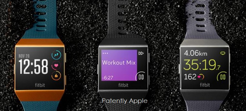 1AF X99 ICONIC FITBIT SMARTWATCH