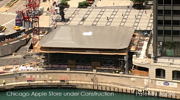 photo image Apple wins Design Patents for Chicago's Newest Apple Store and a MacBook with Back Edge USB-C Port