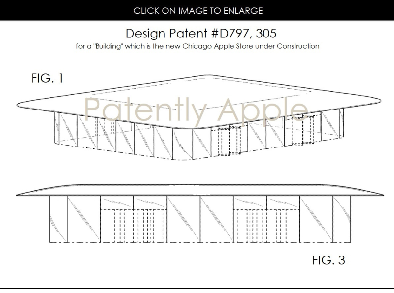 2AF X APPLE BUILDING  DESIGN PATENT