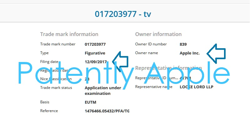 2AF X99 APPLE TV TM EUROPE