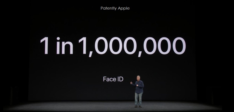 12. 5 face id one in a milllion safe