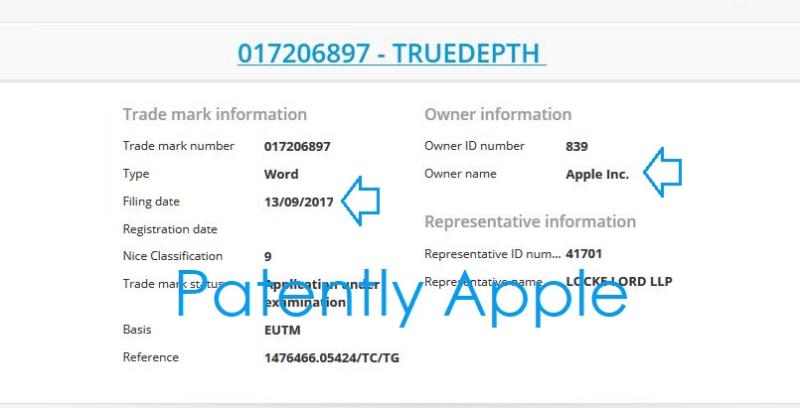 2AF X99 TRUEDEPTH TM EURO SEPT 13  2017