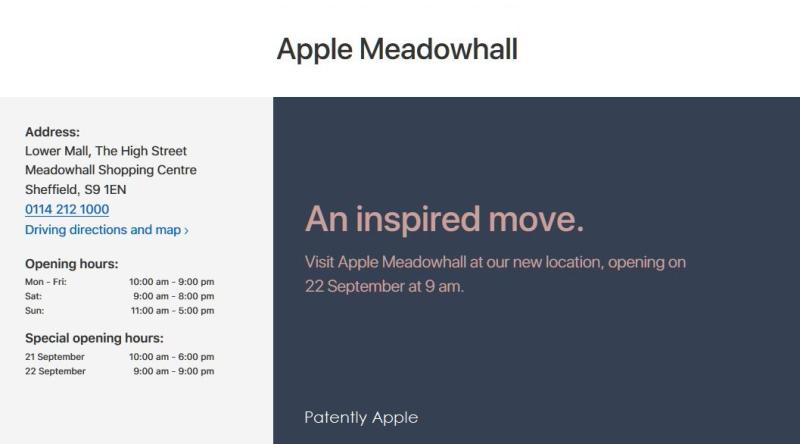 3af  apple meadowhall
