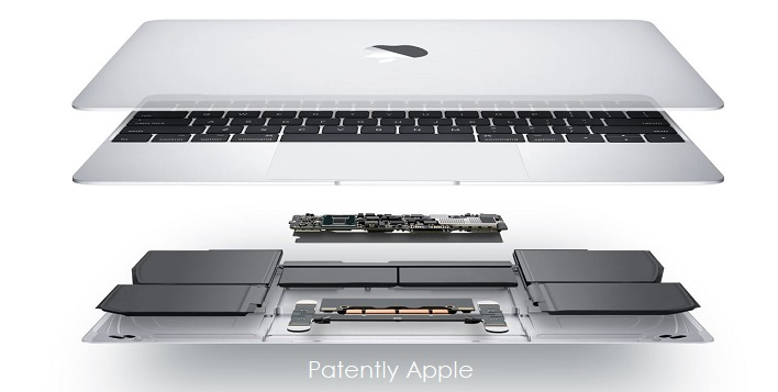 1AF 2017 MACBOOK  THE INVENTED AND PATENTED TERRACED BATTERY