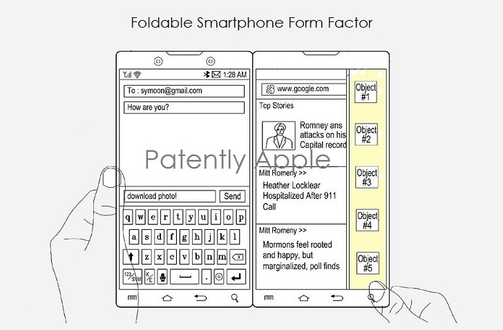 1 COVER FOLDABLE SMARTPHONE FORM FACTOR RACE