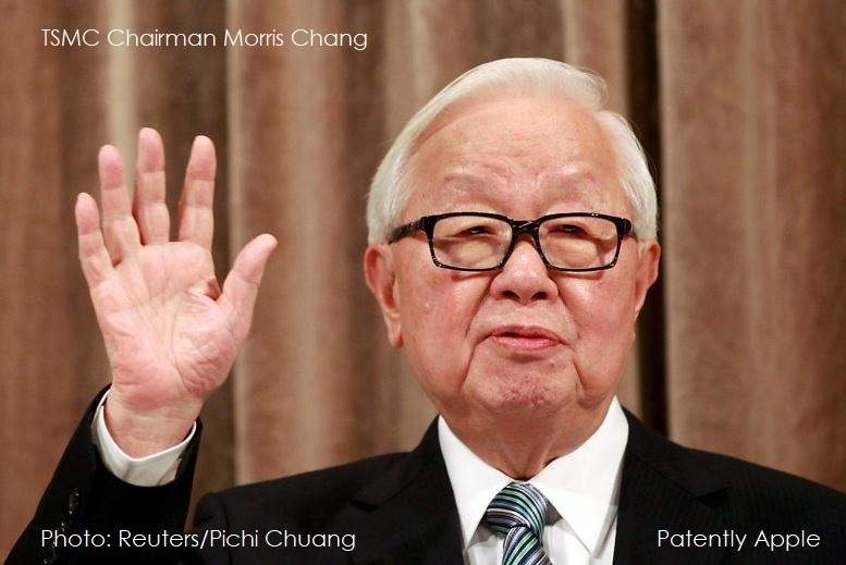 1 COVER JPEG - TSMC CHAIRMAN MORRIS CHANG