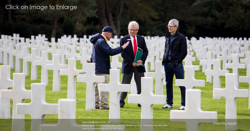 4AF TIM COOK NORMANDY