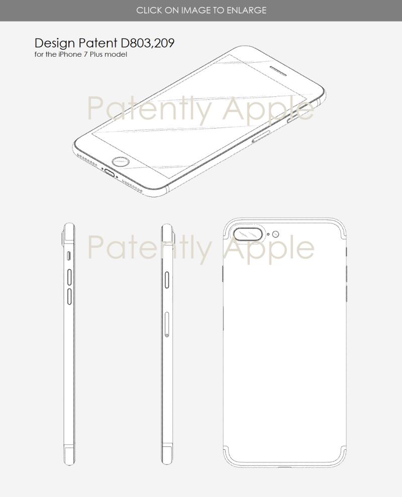 4 iphone 7 design patent d803 209