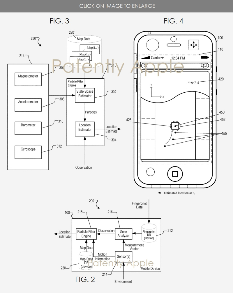 3 INDOOR MAPPING PATENT APPLE NOV 2017
