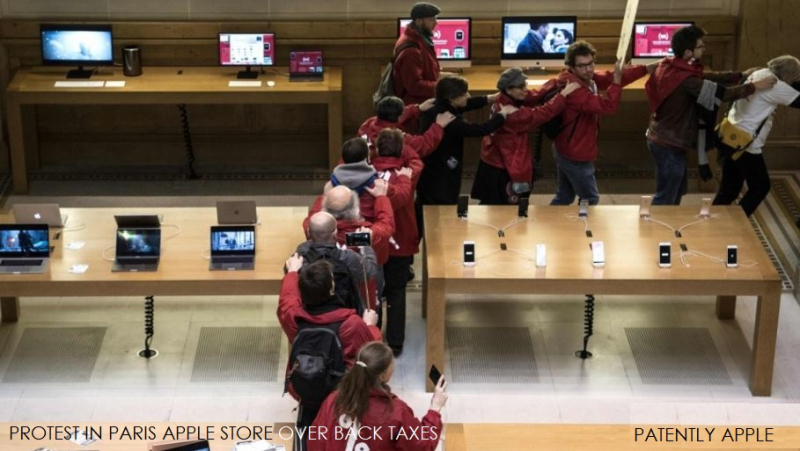 1 COVER PROTEST AGAINST APPLE