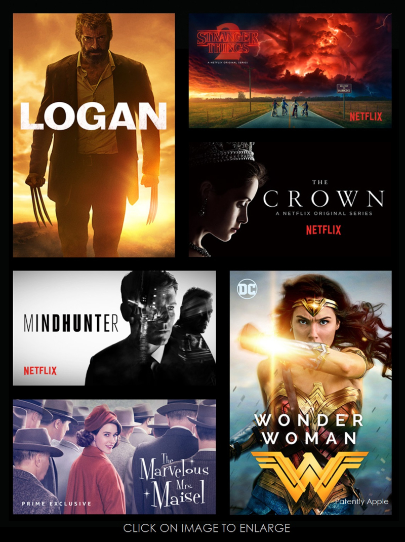 4 - X Apple TV 4k HDR titles