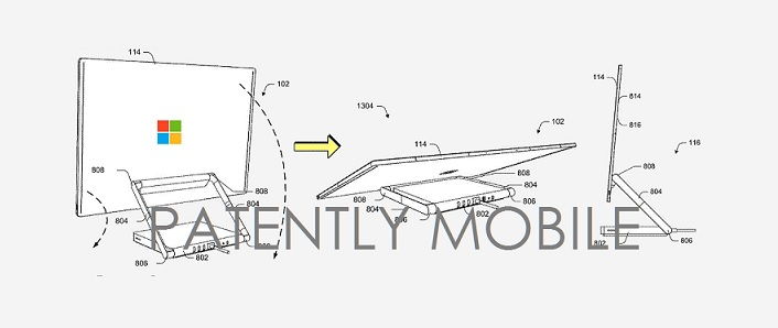 2 microsoft surface studio desktop patent published before its debut in 2016