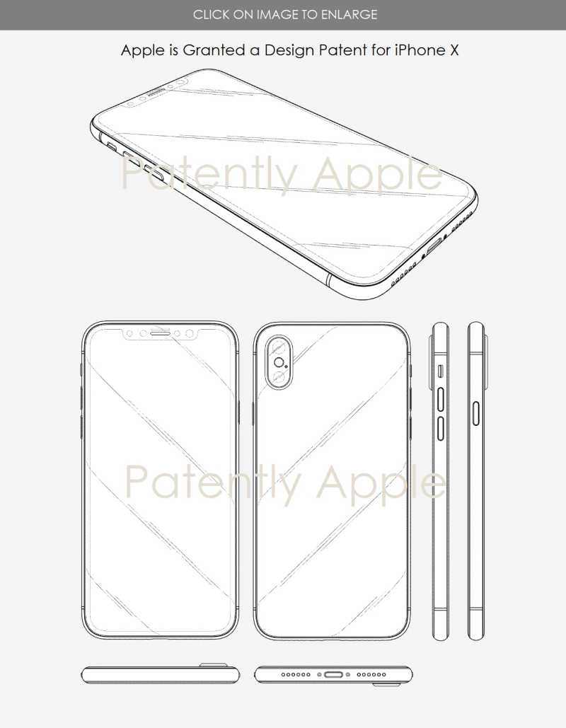 3 IPHONE X  DESIGN WIN  JAN 2  2018  PATENTLY APPLE