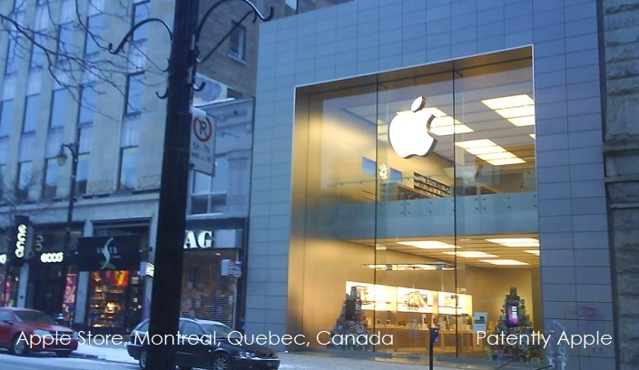 1 cover  apple store in Montreal Quebec  Canada