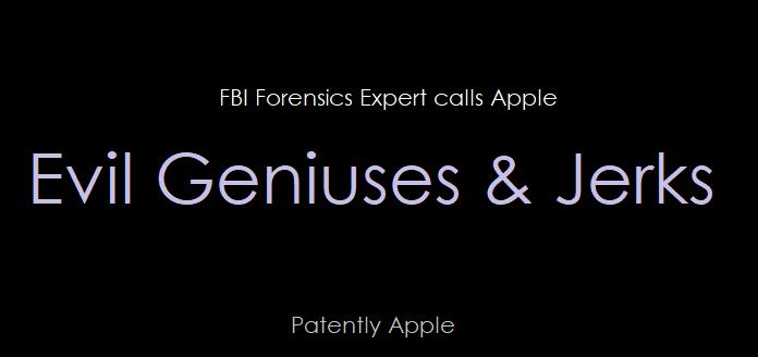 1 cover apple  evil geniuses