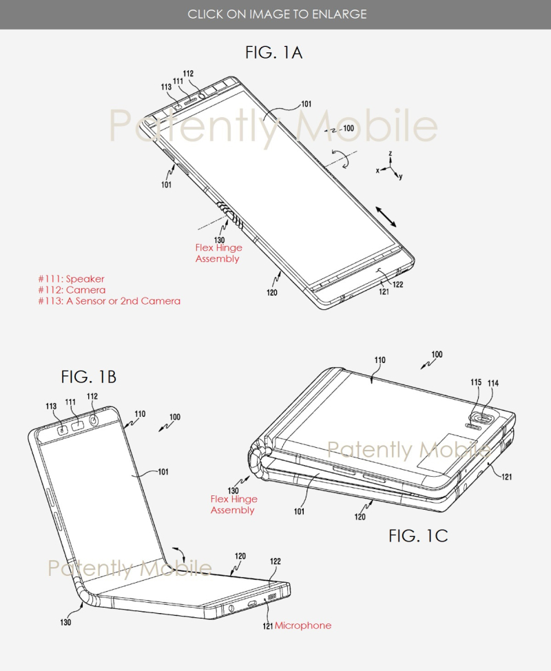 4 samsung new patent application published jan 2018