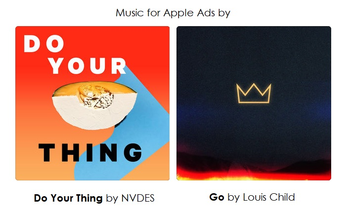 2 music for new ads