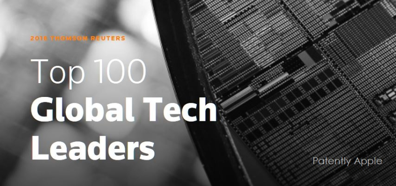 1 COVER 2018 REUTERS TOP 100 TECH COMPANIES