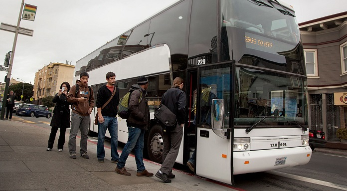 1 company busses to silicon valley