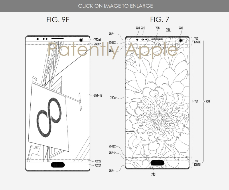 2 samsung patent figs 7 and 9e
