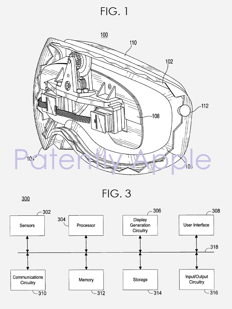 3 video headset apple granted patent