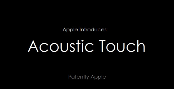 1 cover Acoustic Touch