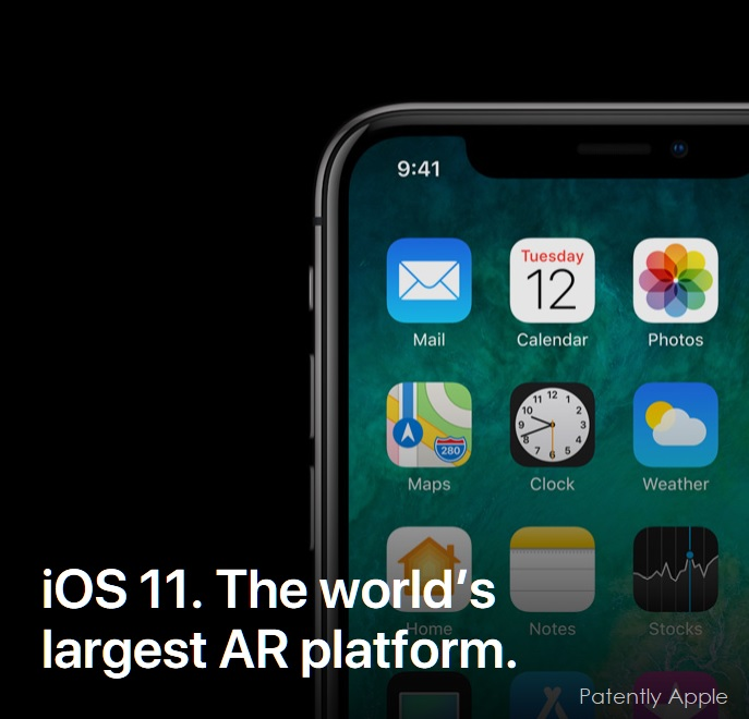 2 Apple AR ios 11