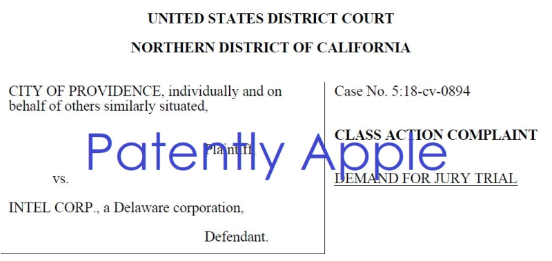 4 class action against intel