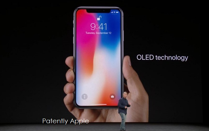 1 cover oled iphone x