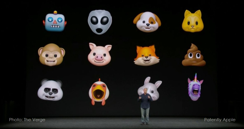 4 Apple's Animoji series