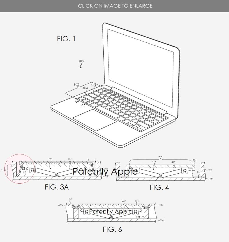 2 crumb resistant keyboard