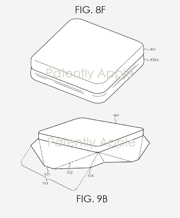 3 - figs. 8f & 9b apple keyboard patent