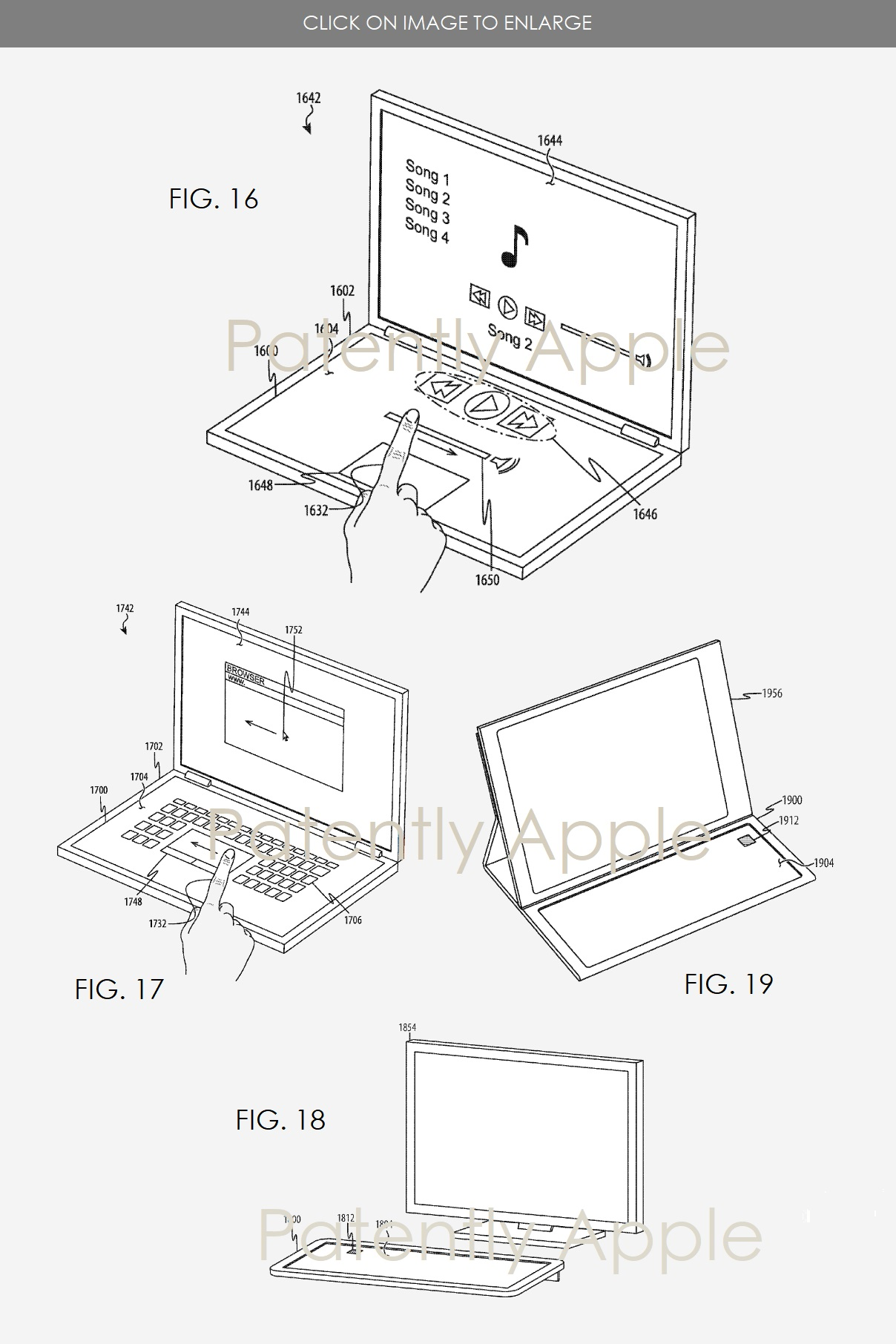 Apple Invents Keyless Keyboards for Macs and iPad Pro with