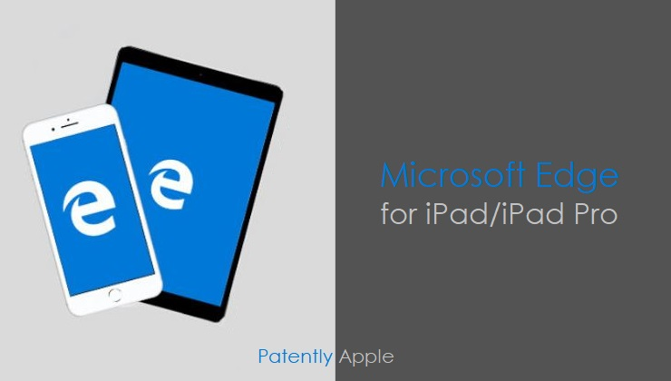 1 X2 - Cover Microsoft Edge Browser for iPad
