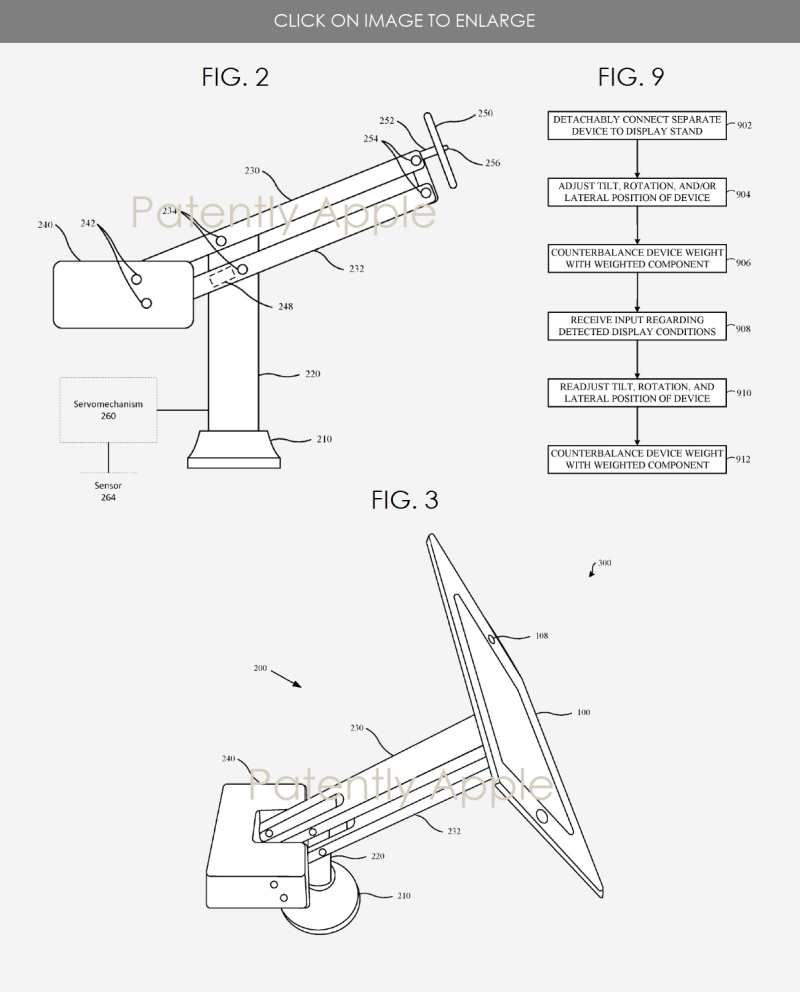 2 Apple iPad stand patent