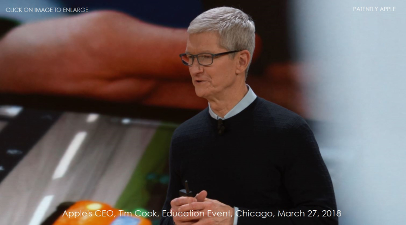 1 X cover Tim Cook in closing  Mar 27  2018