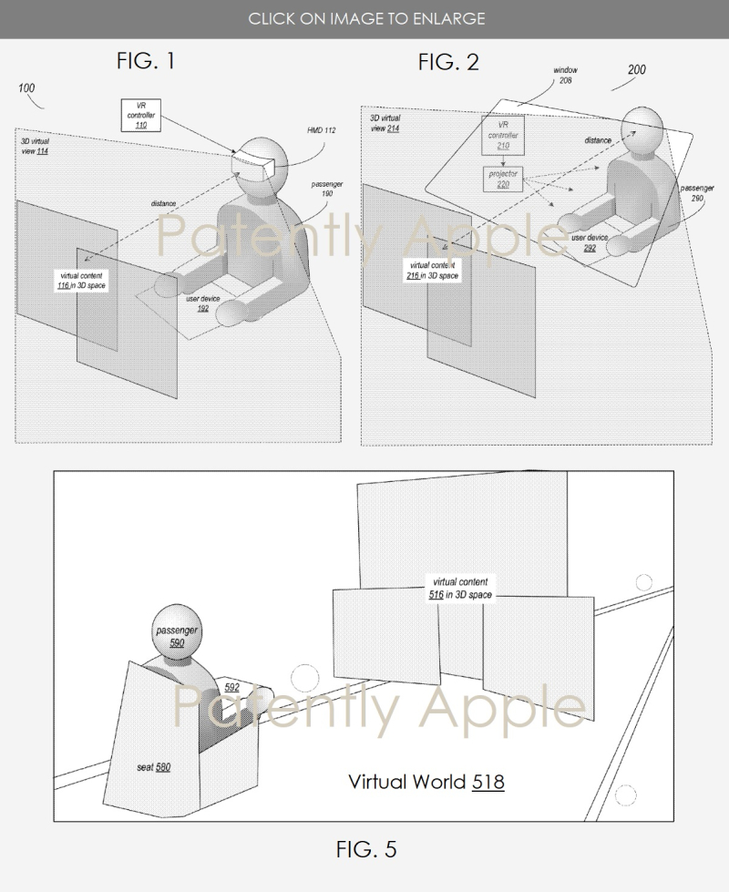 2 Apple VR HMD Virtual system for vehicles