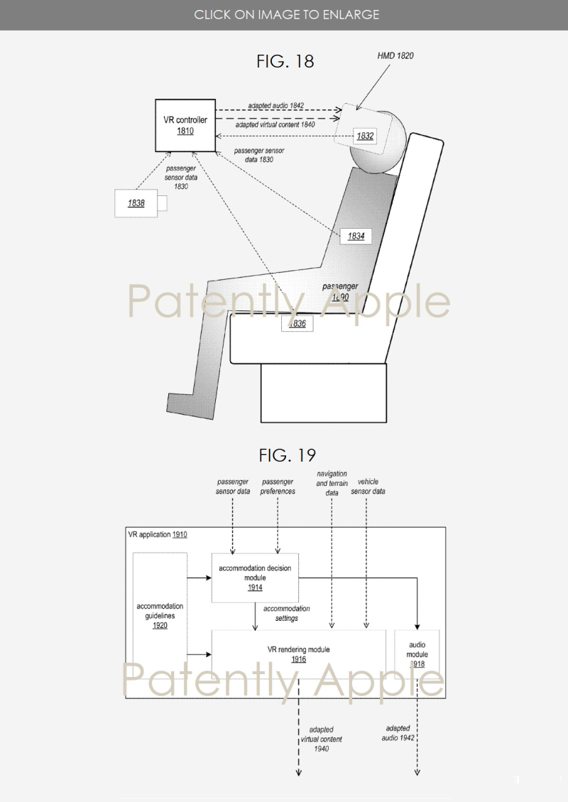 8 Apple patent for HMD VR EXPERIENCES