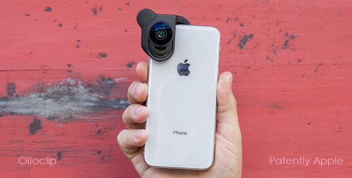 1 -X Cover ollo lens for iPhone  iPhone X