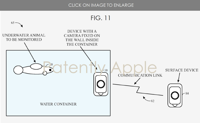 4 FIG. 11 SCENARIO 2 UNDERWATER COMMUNICATION WITH IDEVICE