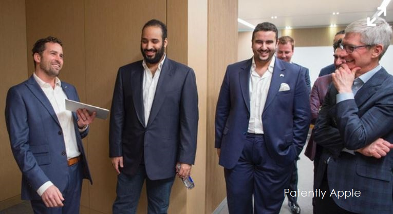 4 Apple Team and Saudi's Crown Prince and team