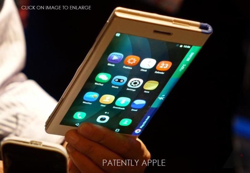 2 X Lenovo foldout smartphone prototype