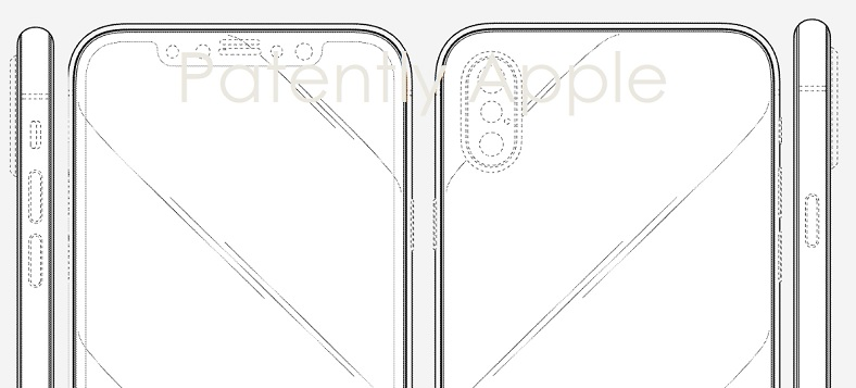 1 Cover iphone x Design Patents 4-17-2018