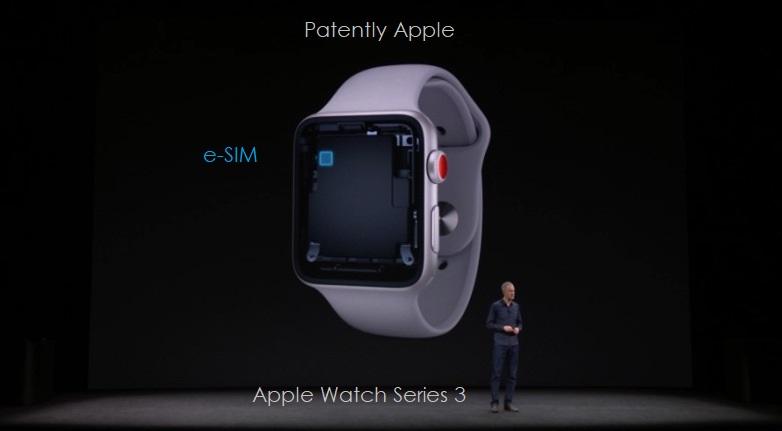 2 apple eSIM Apple Watch 3