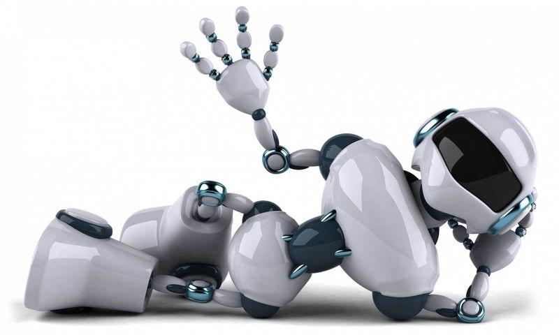 1A HAPPY ROBOT