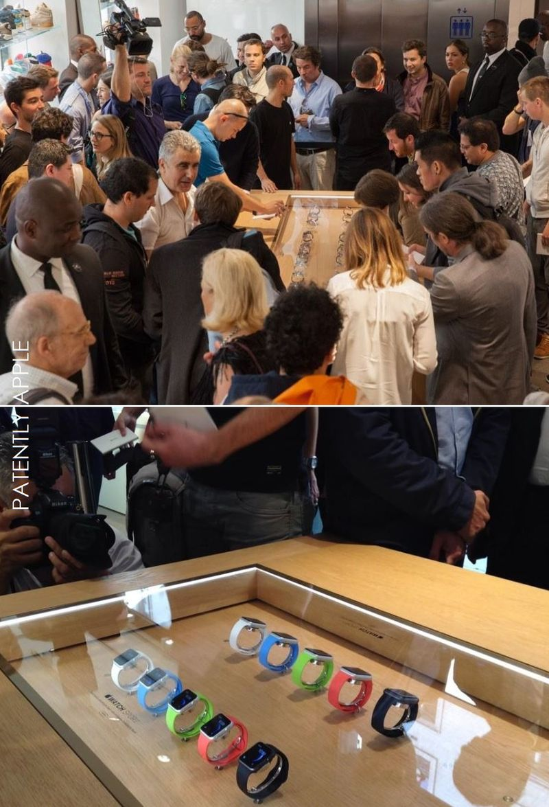 3AF - APPLE WATCH SHOW IN PARIS' COLETTE