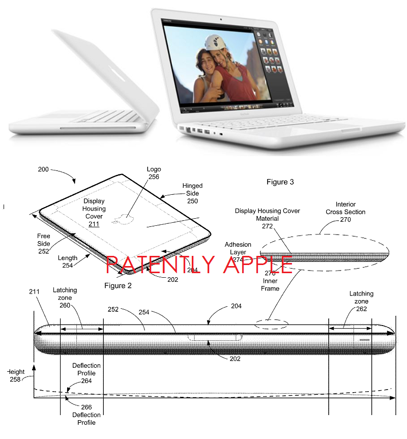 2AF Apple granted patent for polycarbonate macbook