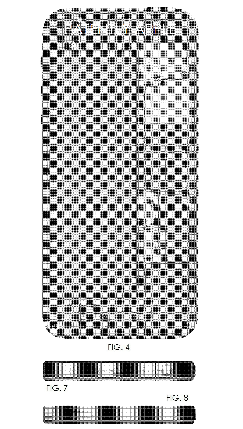 6AF - IPHONE 5 INSIDE FRONT + TOP AND BOTTOM VIEWS