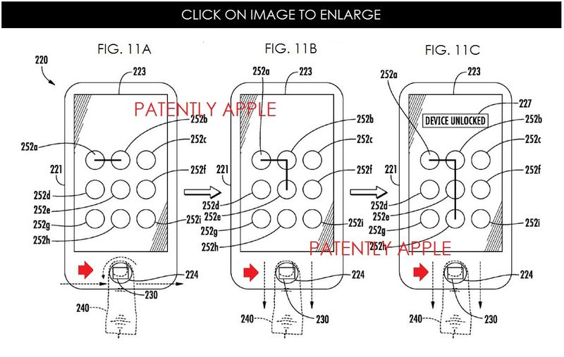 3AF -5 - COMBO TOUCH ID & CODE WITH TWISTING FINGER ON HOME BUTON